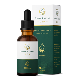 CBD Oil 25% — Natural Flavour