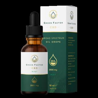 CBD Oil 25% — Mint Flavour